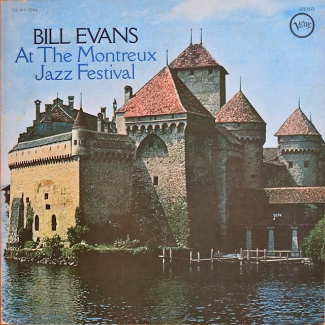 Bill Evans MONTREUX JAZZ FESTIVAL Vinyl Record - Japan Import