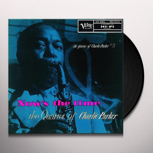 Charlie Parker NOW'S THE TIME Vinyl Record - Japan Release