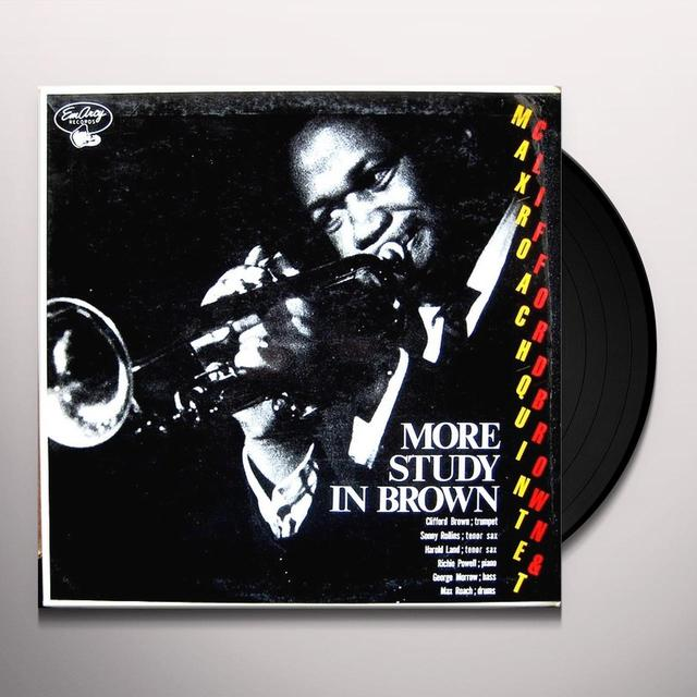 Clifford Brown STUDY IN BROWN Vinyl Record - Japan Import