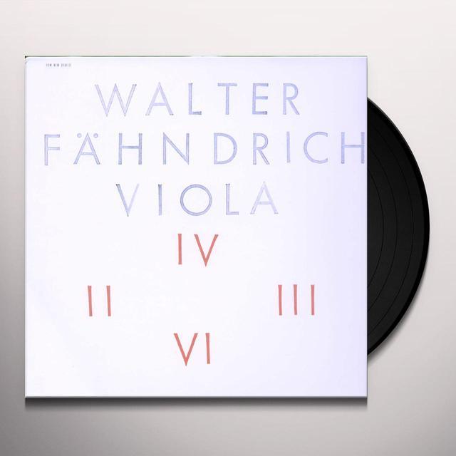 W. Faehndrich VA Vinyl Record - Spain Import