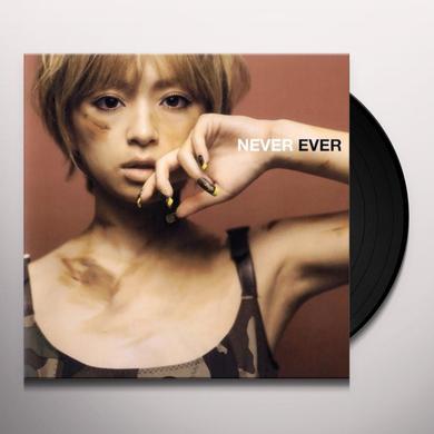 Ayumi Hamasaki NEVER EVER Vinyl Record - Japan Release