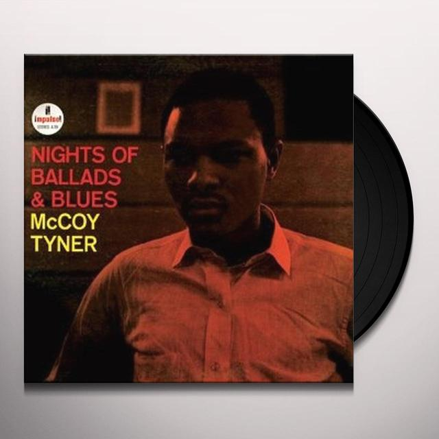 Mccoy Tyner NIGHTS OF BALLADS & BLUES Vinyl Record - Japan Import