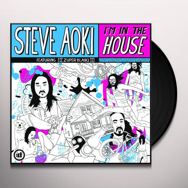 Steve Aoki I'M IN THE HOUSE Vinyl Record