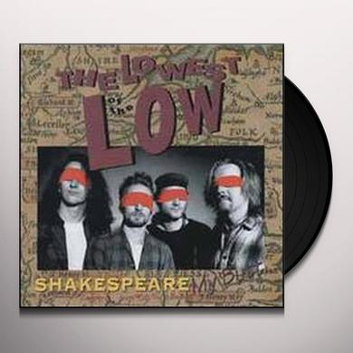Lowest Of The Low SHAKESPEARE MY BUTT Vinyl Record - Canada Import