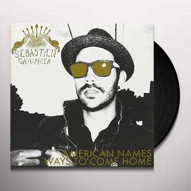 Sebastien Grainger & The Mountains AMERICAN NAMES/WAYS TO COME HOME Vinyl Record - Canada Import