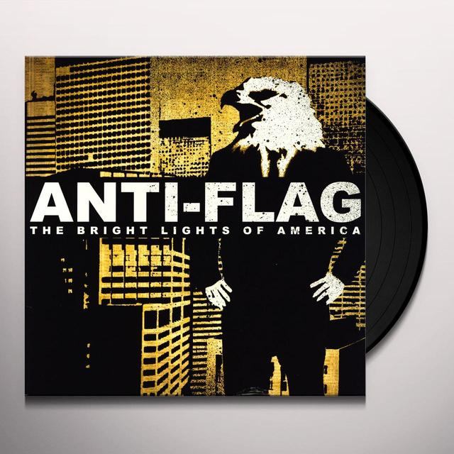 Anti-Flag BRIGHT LIGHTS OF AMERICA Vinyl Record