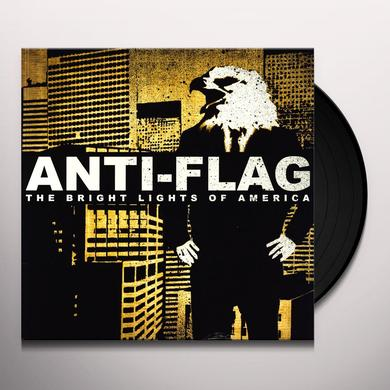 Anti-Flag BRIGHT LIGHTS OF AMERICA Vinyl Record - Canada Import