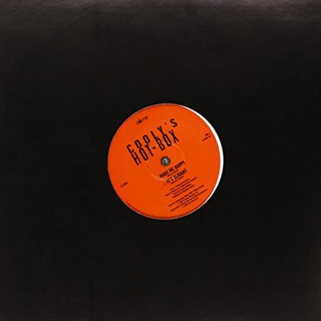 Coolys Hot Box MAKE ME HAPPY Vinyl Record