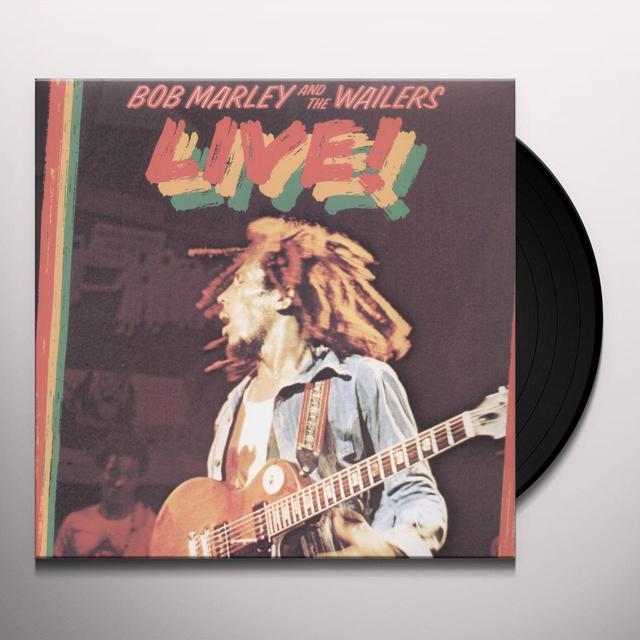 Bob Marley LIVE! Vinyl Record - UK Import