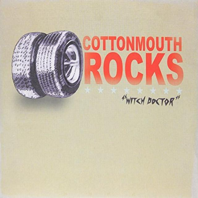 Cottonmouth Rocks WITCH DOCTOR Vinyl Record - UK Release