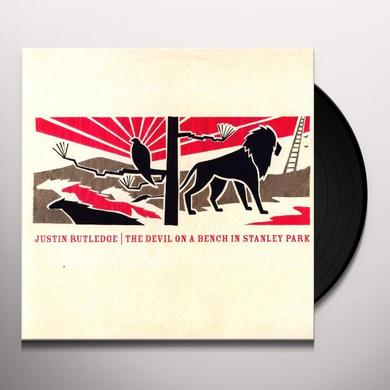 Justin Rutledge DEVIL ON A BENCH IN STANLEY PARK Vinyl Record - Canada Import