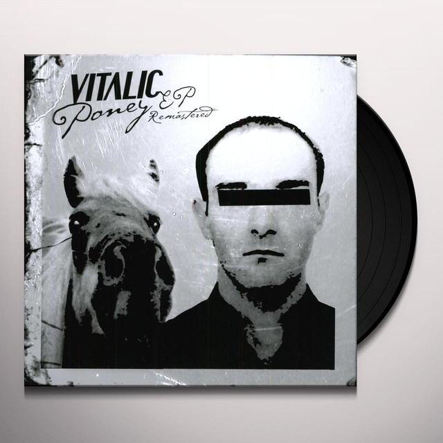 Vitalic PONEY EP Vinyl Record - UK Import