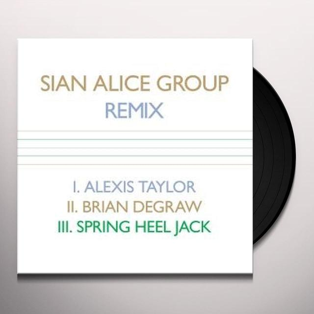 Sian Alice Group REMIX Vinyl Record - Canada Import