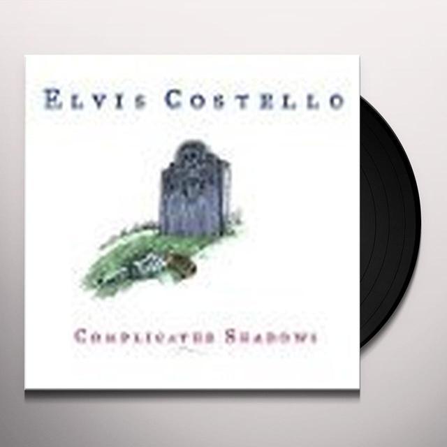 Elvis Costello COMPLICATED SHADOWS Vinyl Record - Canada Import