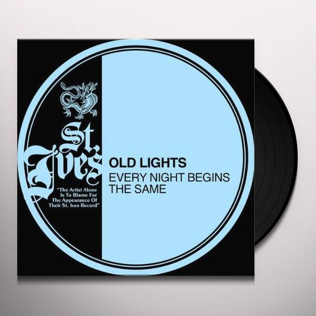 Old Nights EVERY NIGHT BEINGS THE SAME Vinyl Record - Canada Import