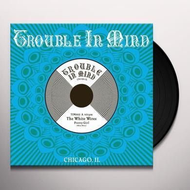 White Wires PRETTY GIRL Vinyl Record - Canada Import