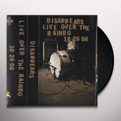 Disappears LIVE OVER THE RAINBO Vinyl Record - Canada Release
