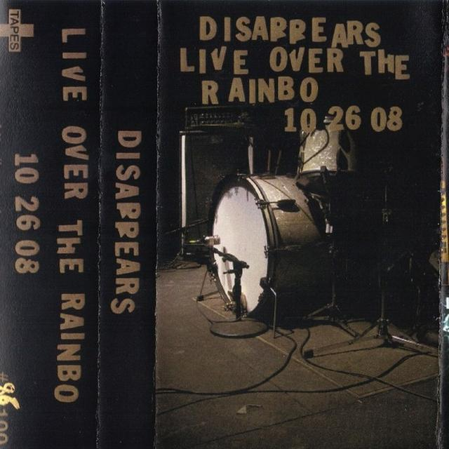 Disappears LIVE OVER THE RAINBO Vinyl Record - Canada Import