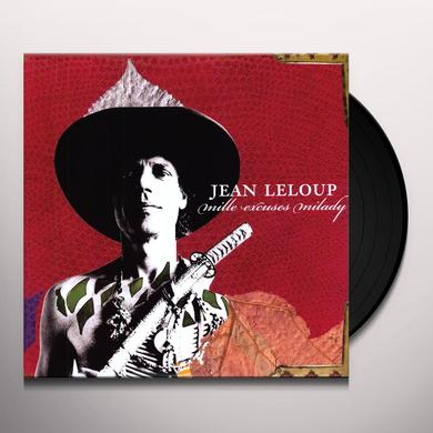 Jean Leloup MILLE EXCUSES MILADY Vinyl Record - Canada Import