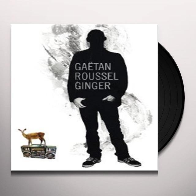 Gaetan Roussel GINGER Vinyl Record - Canada Import