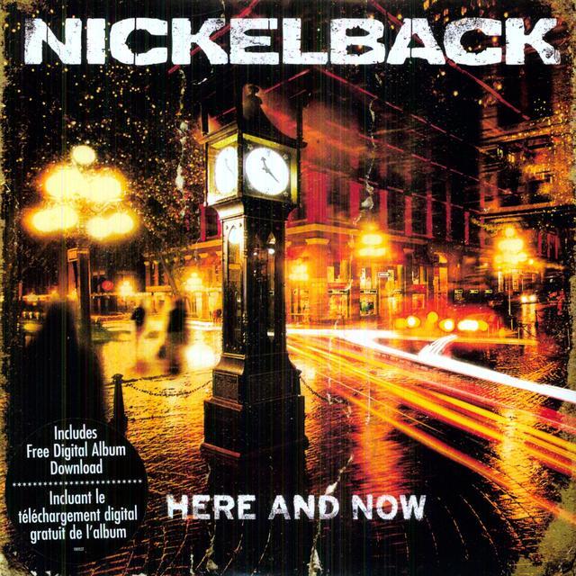 Nickelback HERE & NOW Vinyl Record - Canada Import