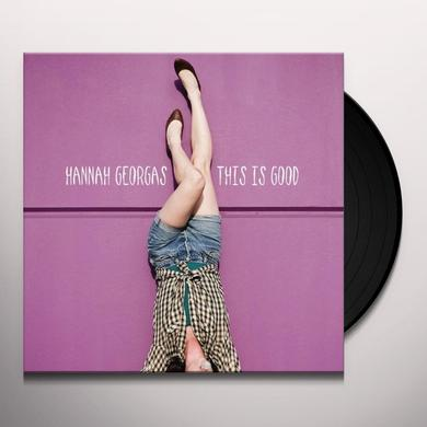 Hannah Georgas THIS IS GOOD Vinyl Record - Canada Import