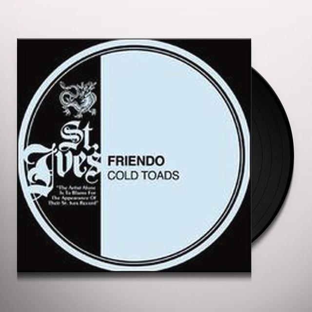 Friendo COLD TOADS Vinyl Record - Canada Import