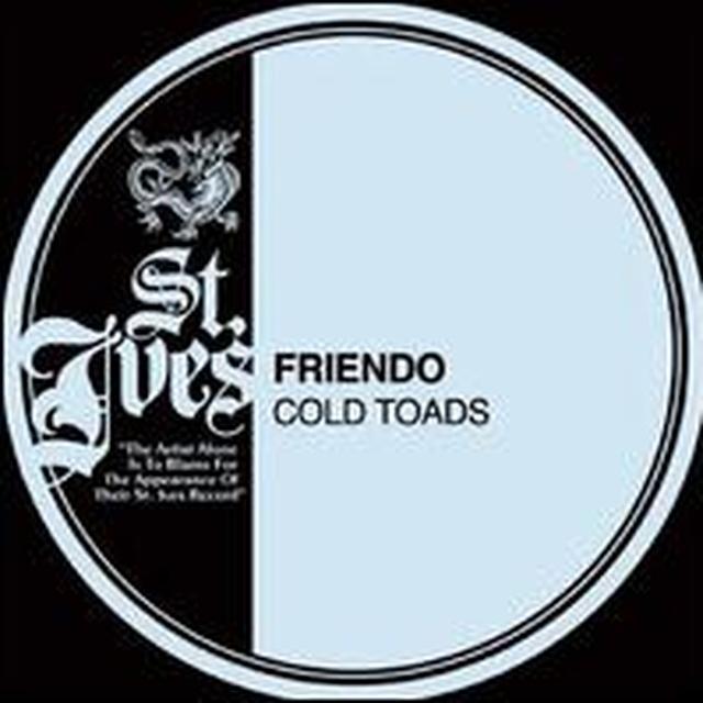 Friendo COLD TOADS Vinyl Record - Canada Import