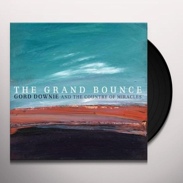 Gordon Downie GRAND BOUNCE Vinyl Record - Canada Release