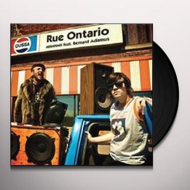 Bernard Adamus RUE ONTARIO (VERSION 45 TOURS) Vinyl Record