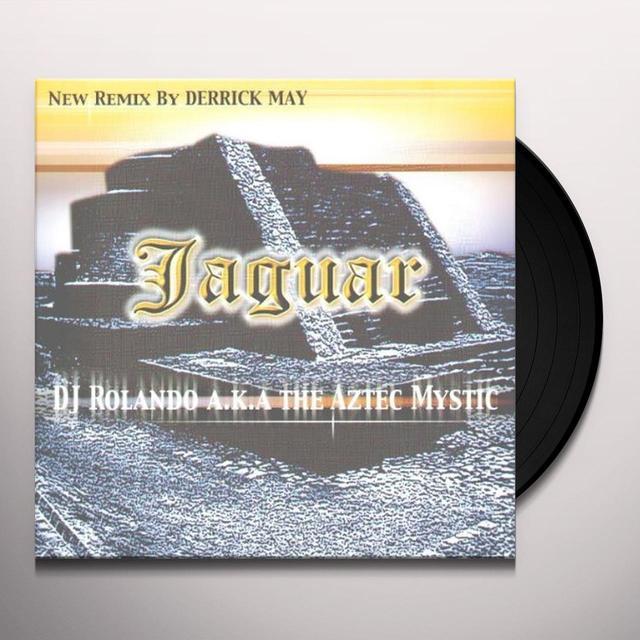 DJ ROLANDO A.K.A. THE AZTEC MY JAGUAR Vinyl Record - UK Import