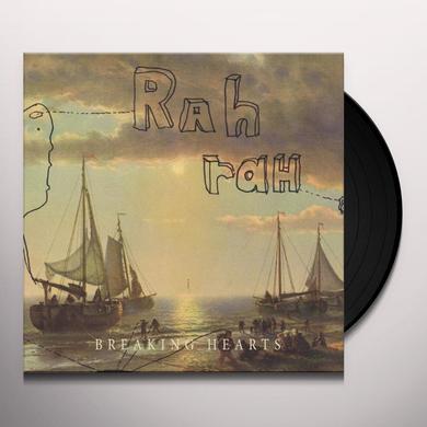 Rah Rah BREAKING HEARTS Vinyl Record - Canada Import