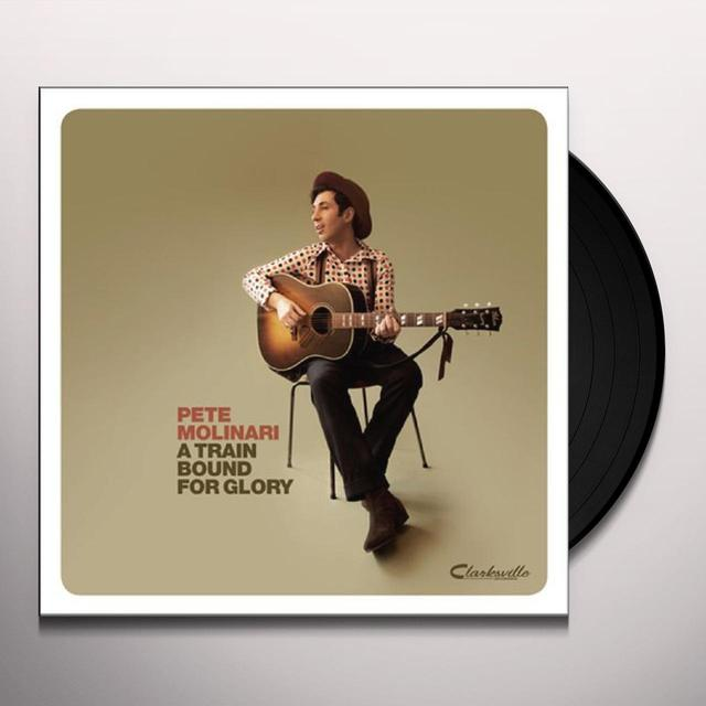 Pete Molinari TRAIN BOUND FOR GLORY Vinyl Record - UK Release