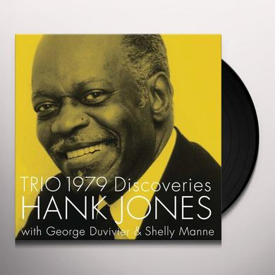 Hank Jones TRIO 1979 DISCOVERY Vinyl Record