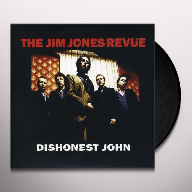 The Jim Jones Revue DISHONEST JOHN Vinyl Record