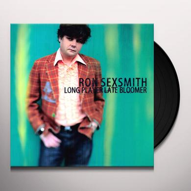 Ron Sexsmith LONG PLAYER LATE BLOOMER Vinyl Record