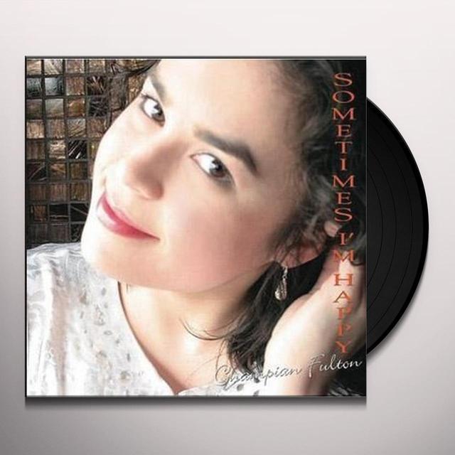 Champian Trio Fulton SOMETIMES I'M HAPPY Vinyl Record