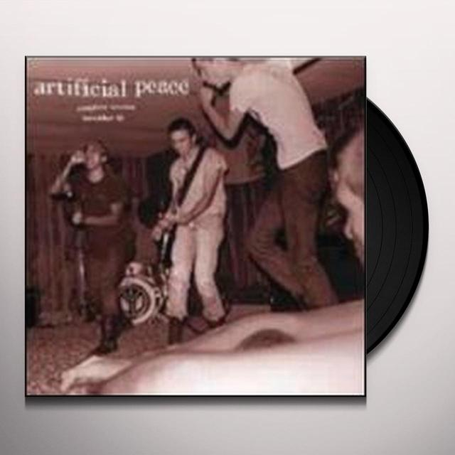 Artificial Peace COMPLETE SESSION NOV 81 Vinyl Record