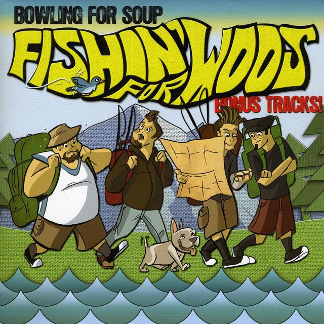 Bowling For Soup FISHIN' FOR WOOS Vinyl Record - UK Import