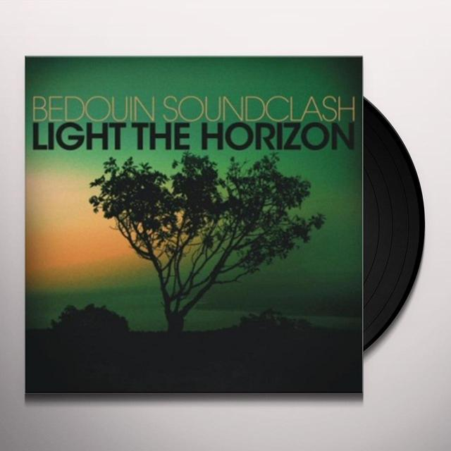 Bedouin Soundclash LIGHT THE HORIZON Vinyl Record - Canada Import