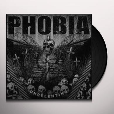 Phobia UNRELENTING Vinyl Record - Canada Import