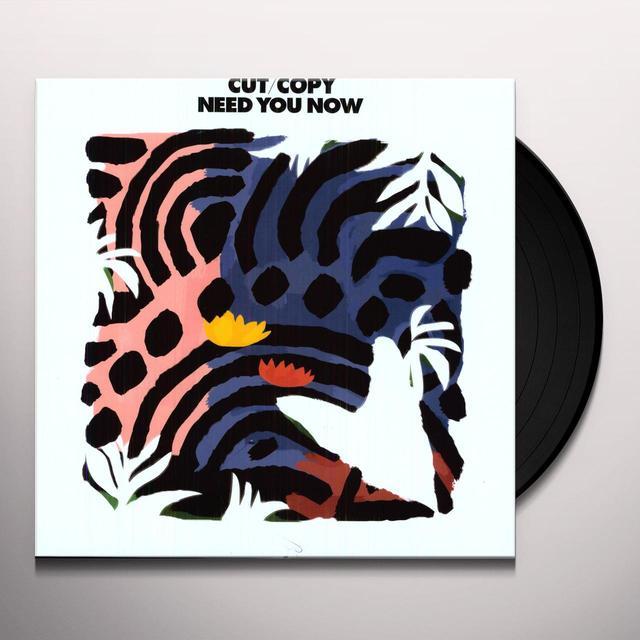 Cut Copy NEED YOU NOW REMIXES Vinyl Record - UK Import