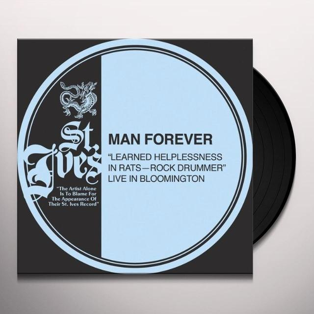 Man Forever LEARNED HELPLESSNESS IN RATS Vinyl Record - Canada Import
