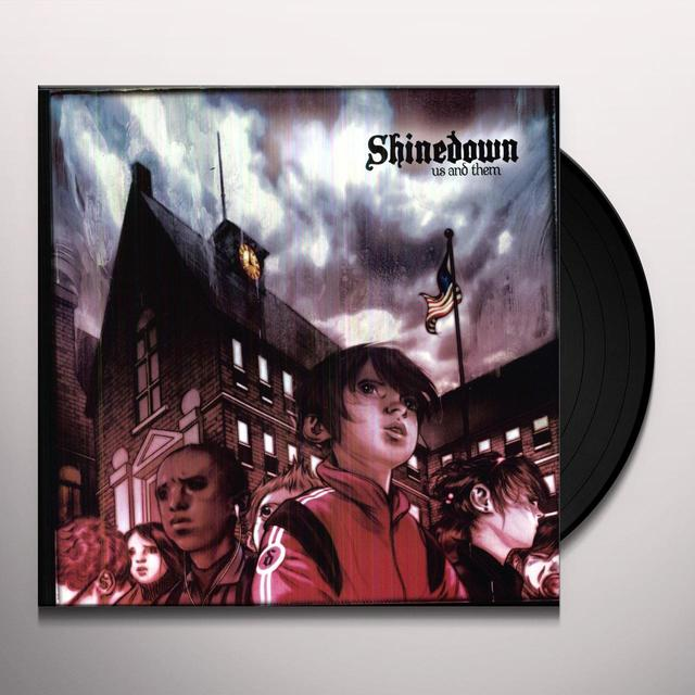 Shinedown US & THEM (GER) Vinyl Record