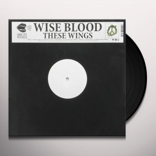 Wise Blood THESE WINGS EP Vinyl Record - UK Import