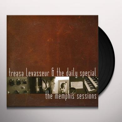 Treasa Levasseur & The Daily Special MEMPHIS SESSIONS Vinyl Record - Canada Import