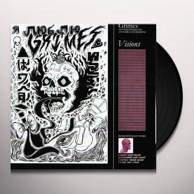 Grimes VISIONS Vinyl Record - Canada Release