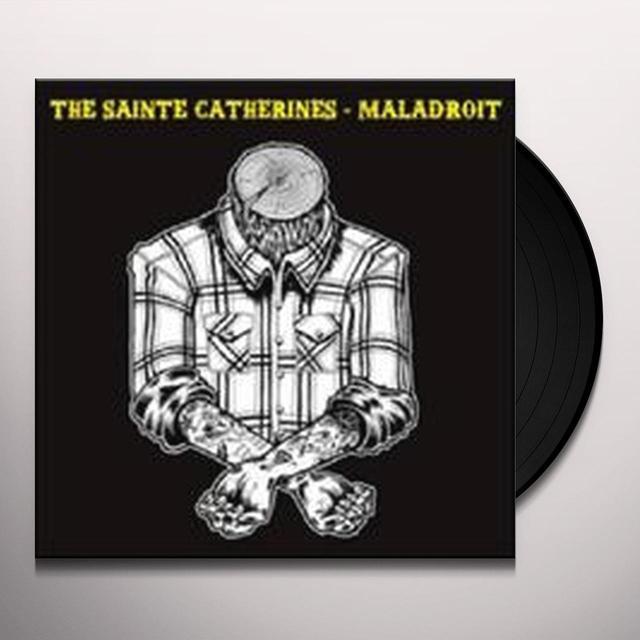 Sainte Catherines & Maladroit SPLIT ACOUSTIQUE Vinyl Record - Canada Import
