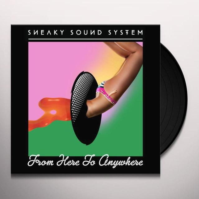 Sneaky Sound System FROM HERE TO ANYWHERE Vinyl Record - UK Release