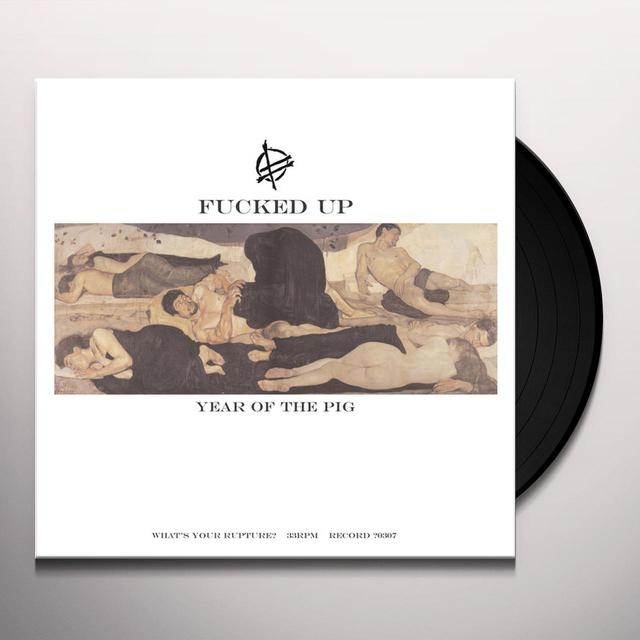 Fucked Up YEAR OF THE PIG Vinyl Record